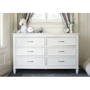 Darlington 6 Drawer Double Dresser by Million Dollar Baby Classic
