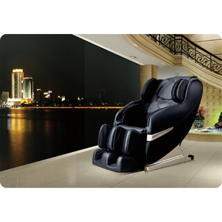 Westinghouse WES41-3000 Black Leather Reclining Massage Chair by Westinghouse SKU:DB558037 Information