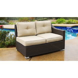 Leib Patio Sectional with Cushions