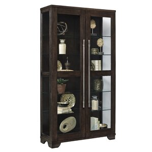 Quakertown Lighted Curio Cabinet by Darby Home Co