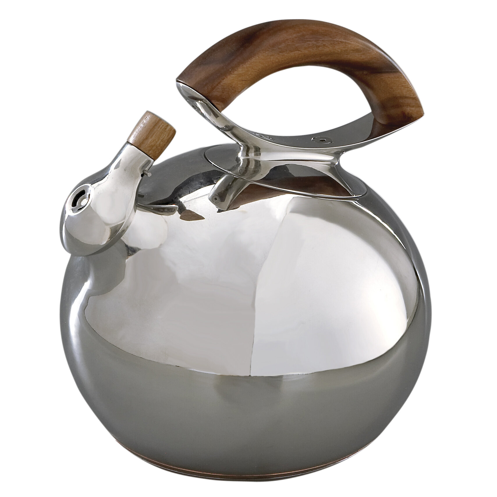 Nambe 1.47-qt. Bulbo Tea Kettle & Reviews | Wayfair
