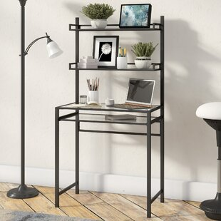 Campos Writing Desk with Hutch by Latitude Run