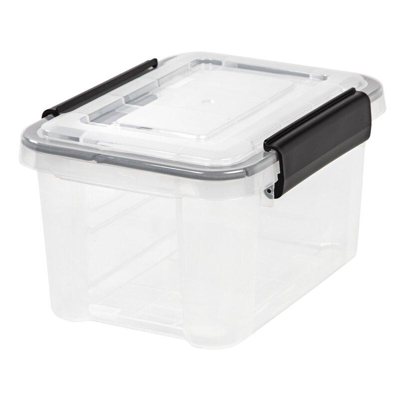 Weathertight Plastic Storage Tote