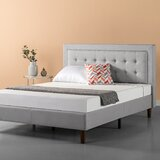 Atkin Tufted Upholstered  Platform Bed by Wrought Studio™