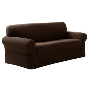 Darby Home Co Box Cushion Sofa Slipcover Image