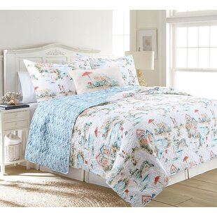 Carreon Beach Club Reversible Quilt Set