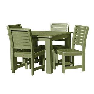 Fonso 5 Piece Dining Set
