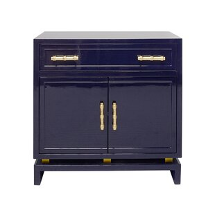 1 Drawer 2 Door Bachelor's Chest by Worlds Away