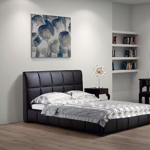 Forbes Upholstered Panel Bed by Wade Logan No Copoun