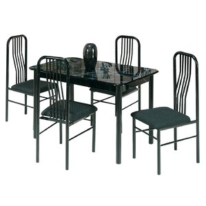 Antionette 5 Piece Dining Set by Ebern Designs