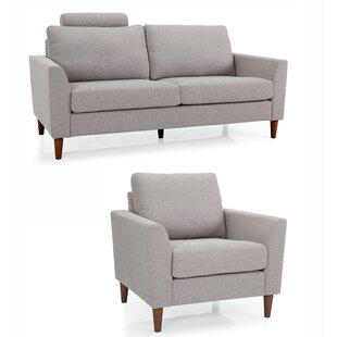 Tena 2 Piece Living Room Set by Brayden Studio
