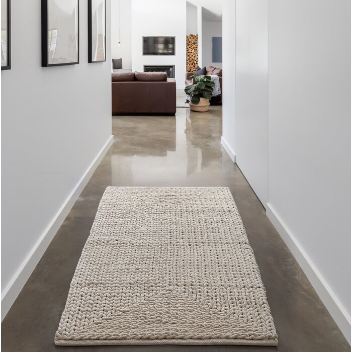Munsch Chenille Ivory Area Rug
