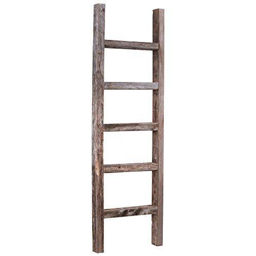 August Grove Rustic 4 Ft Blanket Ladder Reviews Wayfair