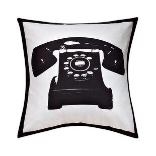Masie Telephone Decorative Throw Pillow