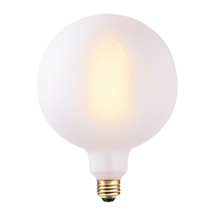 Frosted Light Bulbs >> Trahan 60w Frosted Incandescent Vintage Filament Light Bulb