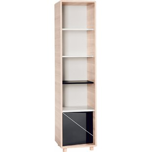 Evolve Tall Narrow 190cm Standard Bookcase  sc 1 st  Wayfair & Tall Narrow Bathroom Storage | Wayfair.co.uk
