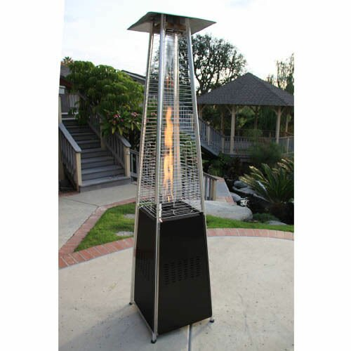 Garden Radiance Dancing Flames Pyramid Outdoor 34 000 Btu Propane