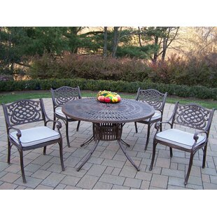 Sunray Mississippi Dining Set with Cushions