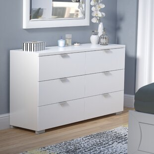 Louie 6 Drawer Double Dresser