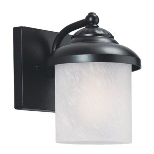 Buy luxury Atisha 100W 1-Light Outdoor Wall Lantern II By Red Barrel Studio