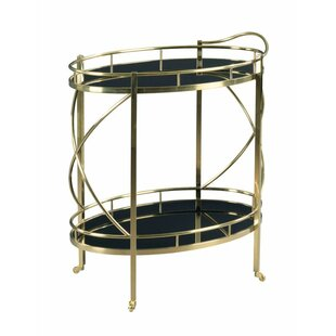 Roberson Rolling Bar Cart by Everly Quinn