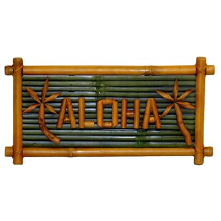 Porter Bamboo Aloha Garden Sign by Bay Isle Home