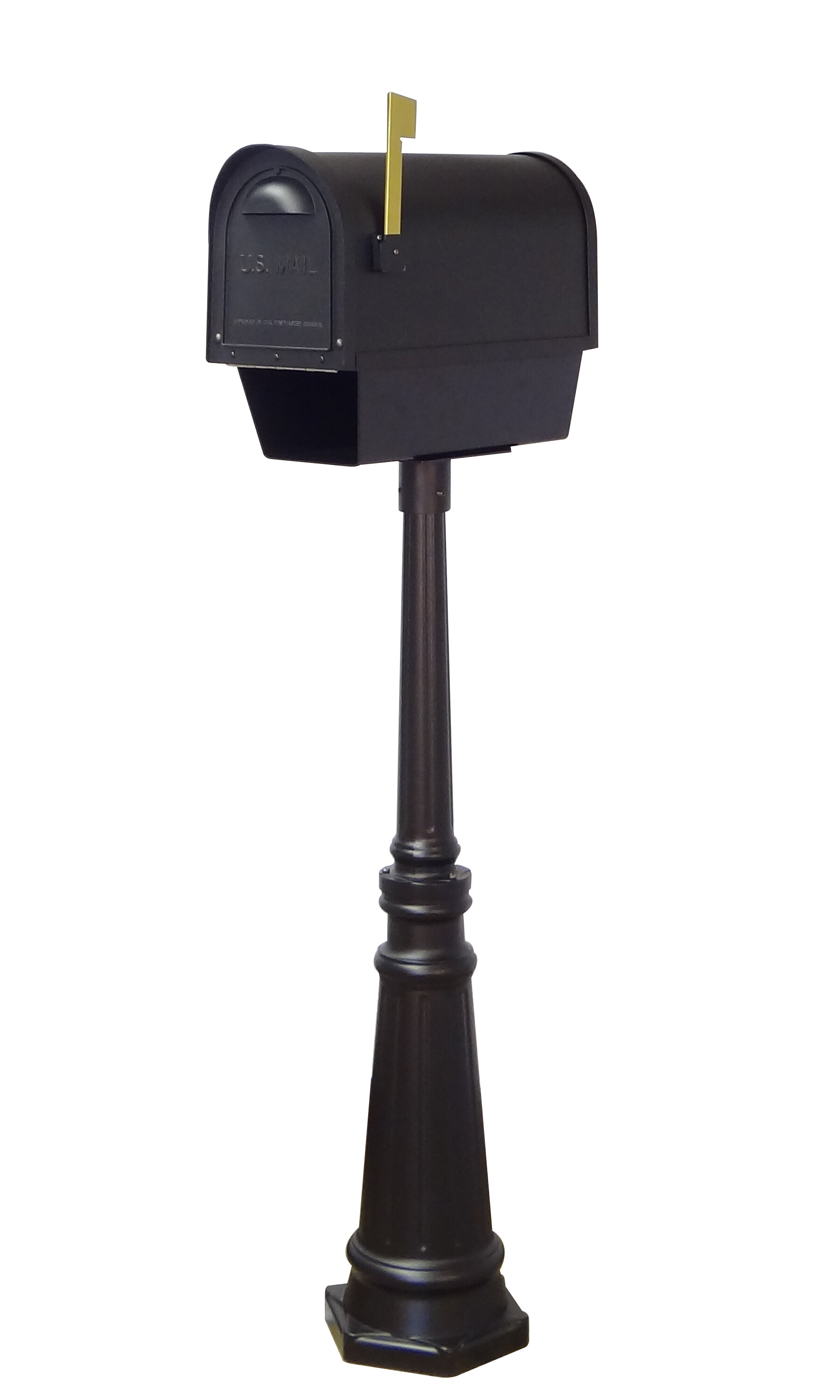 Special Lite Products Classic Curbside Mailbox With Post Included Wayfair Ca