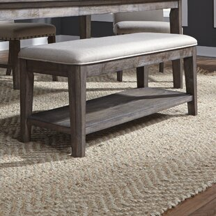 Vanwormer Upholstered Bench by Gracie Oaks