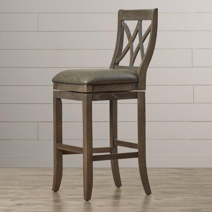 Swell Alsace Bar Counter Extra Tall Swivel Stool Uwap Interior Chair Design Uwaporg