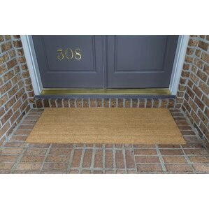 Awesome Frances Solid Double Door Doormat