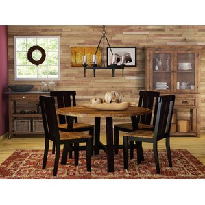 Sangrey 5 Piece Dining Set by Loon Peak