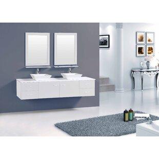 Azzitta 60 Double Bathroom Vanity Set by Orren Ellis