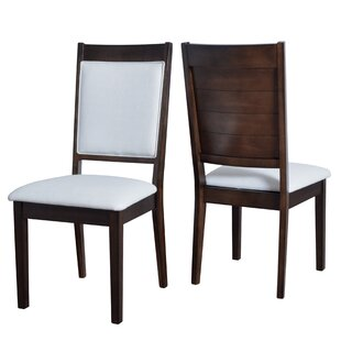Pickett Ladder Upholstered Dining Chair (Set of 2) by Latitude Run