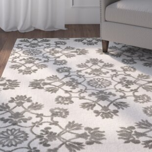 Cream/Gray Indoor/Outdoor Area Rug