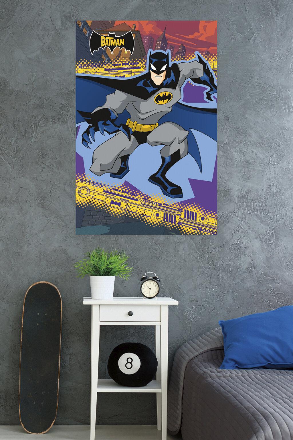 Trends International Bathman The Batman Paper Print Wayfair