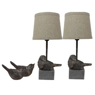 Simran Bird II 14 Table Lamp (Set of 2)