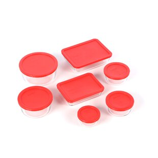Bakeware 7 Container Food Storage Set