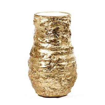 World Menagerie Dekker Foiled And Lacquered Table Vase Reviews Wayfair