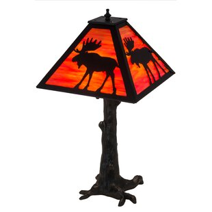 Ziebarth Lone Moose 24 Table Lamp