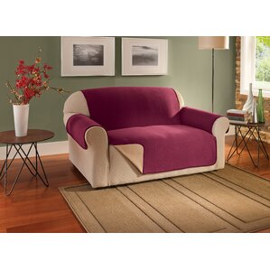 Box Cushion Loveseat Slipcover by Innovative..