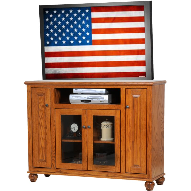 Alcott Hill Spoffo Solid Wood Tv Stand For Tvs Up To 60 Wayfair