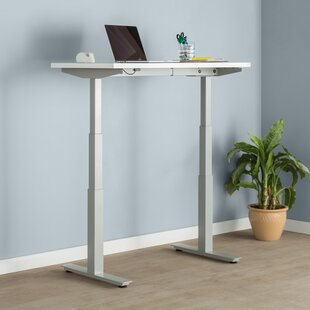 Review Express Height Adjustable Standing Desk by Trendway