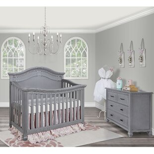 Compare & Buy Evolur Madison 5-in-1 Convertible 2 Piece Crib Set with Mattress By Evolur