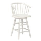 Tioga 24 Swivel Bar Stool by Rosecliff Heights