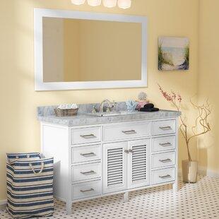 Best Reviews Hamil 61 Single Bathroom Vanity Set with Mirror ByHighland Dunes