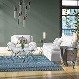 Segura 2 Piece Faux Leather Living Room Set by Orren Ellis