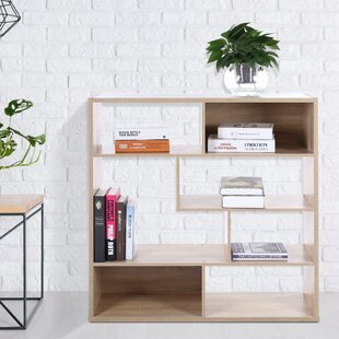 Arbour Geometric Bookcase by Ebern Designs