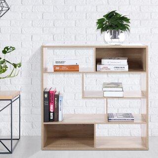 Arbour Geometric Bookcase by Ebern Designs SKU:AE498589 Price Compare