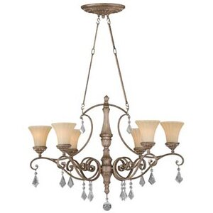 Avenant 6-Light Shaded Chandelier