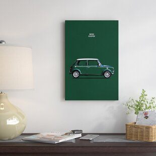 '1999 Mini Cooper' Graphic Art Print on Canvas By East Urban Home